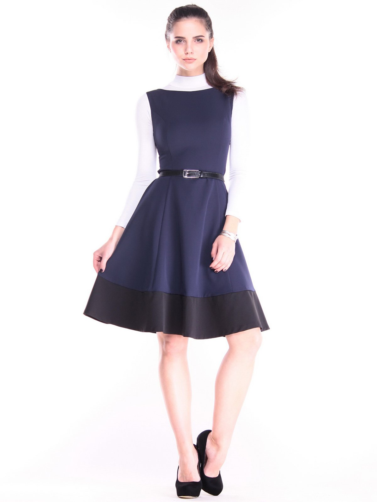Сукня темно-синя | 3686802