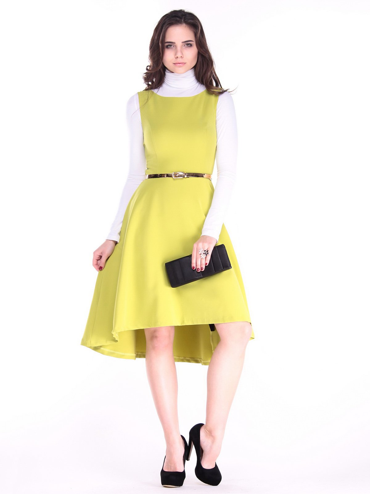 Сукня кольору авокадо | 3686927