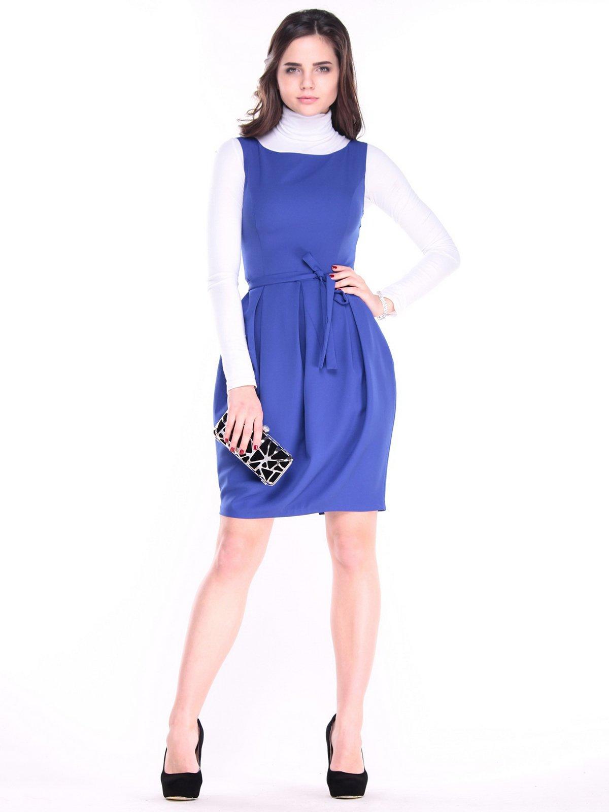 Сукня кольору електрик | 3686929
