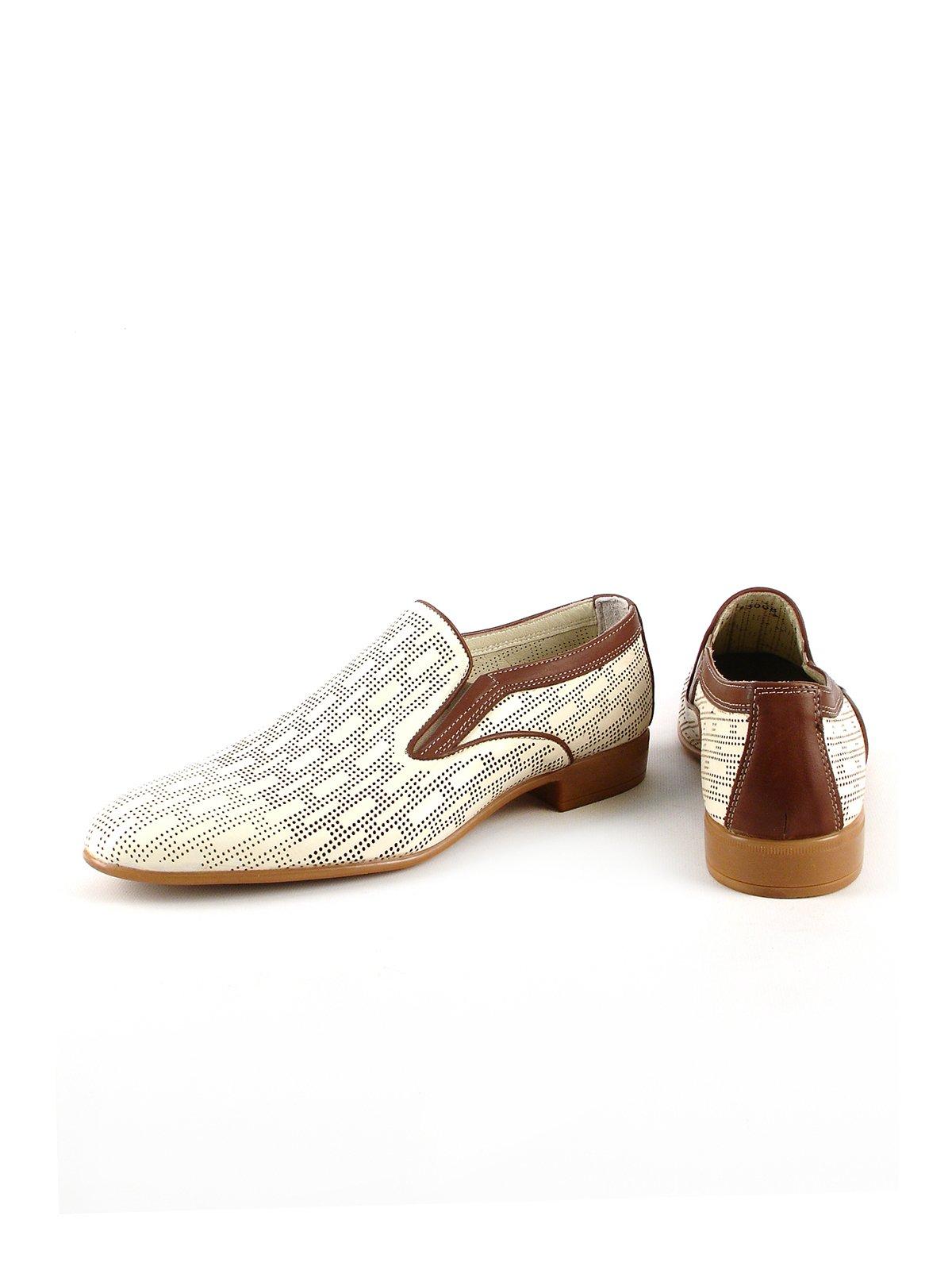 Туфли бежевые | 2816880 | фото 3
