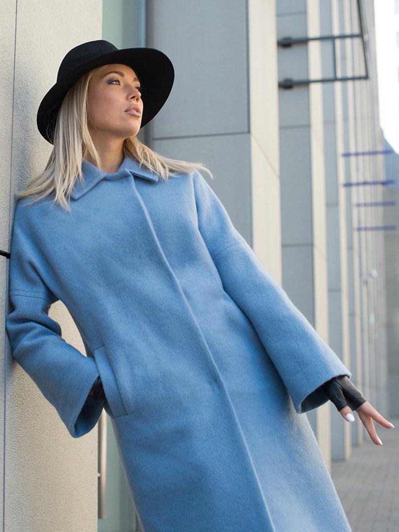 Пальто голубое | 3552161