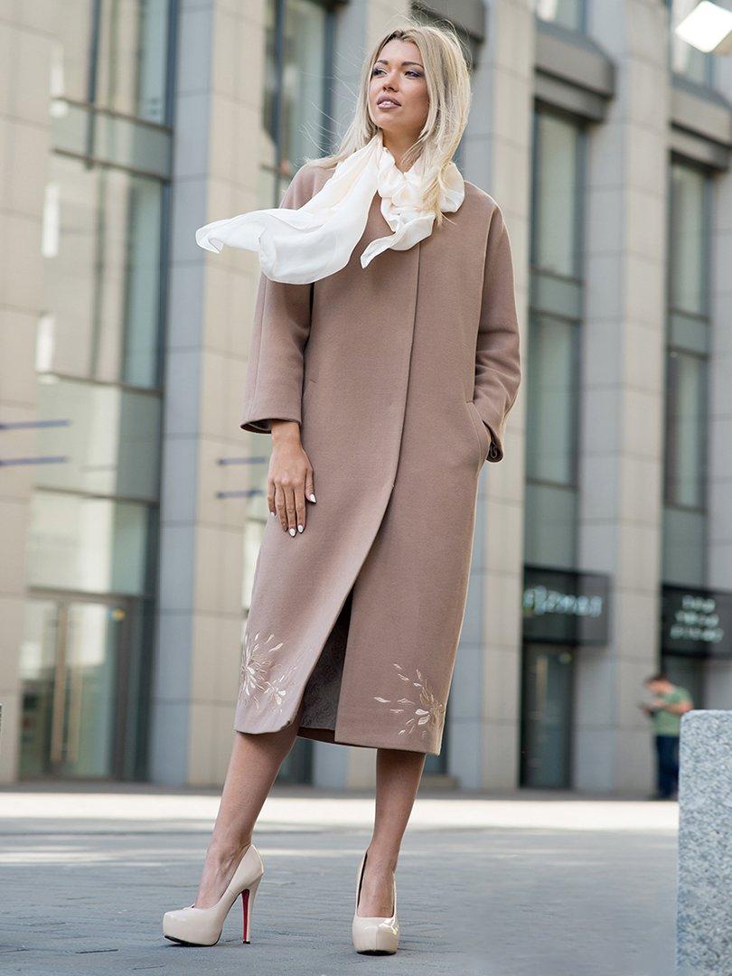 Пальто коричневое | 3552148