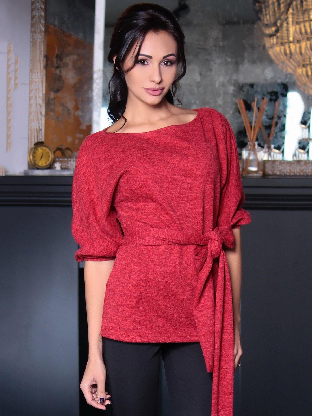 Блуза красная | 3692766