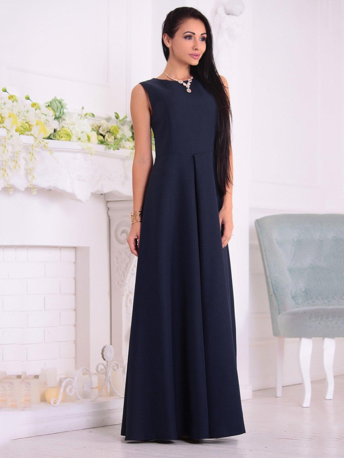 Платье темно-синее | 3692792