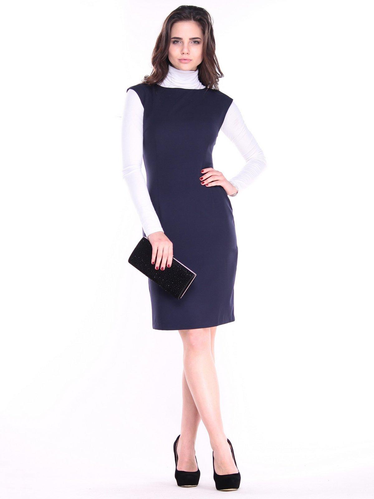 Сукня темно-синя | 3692805