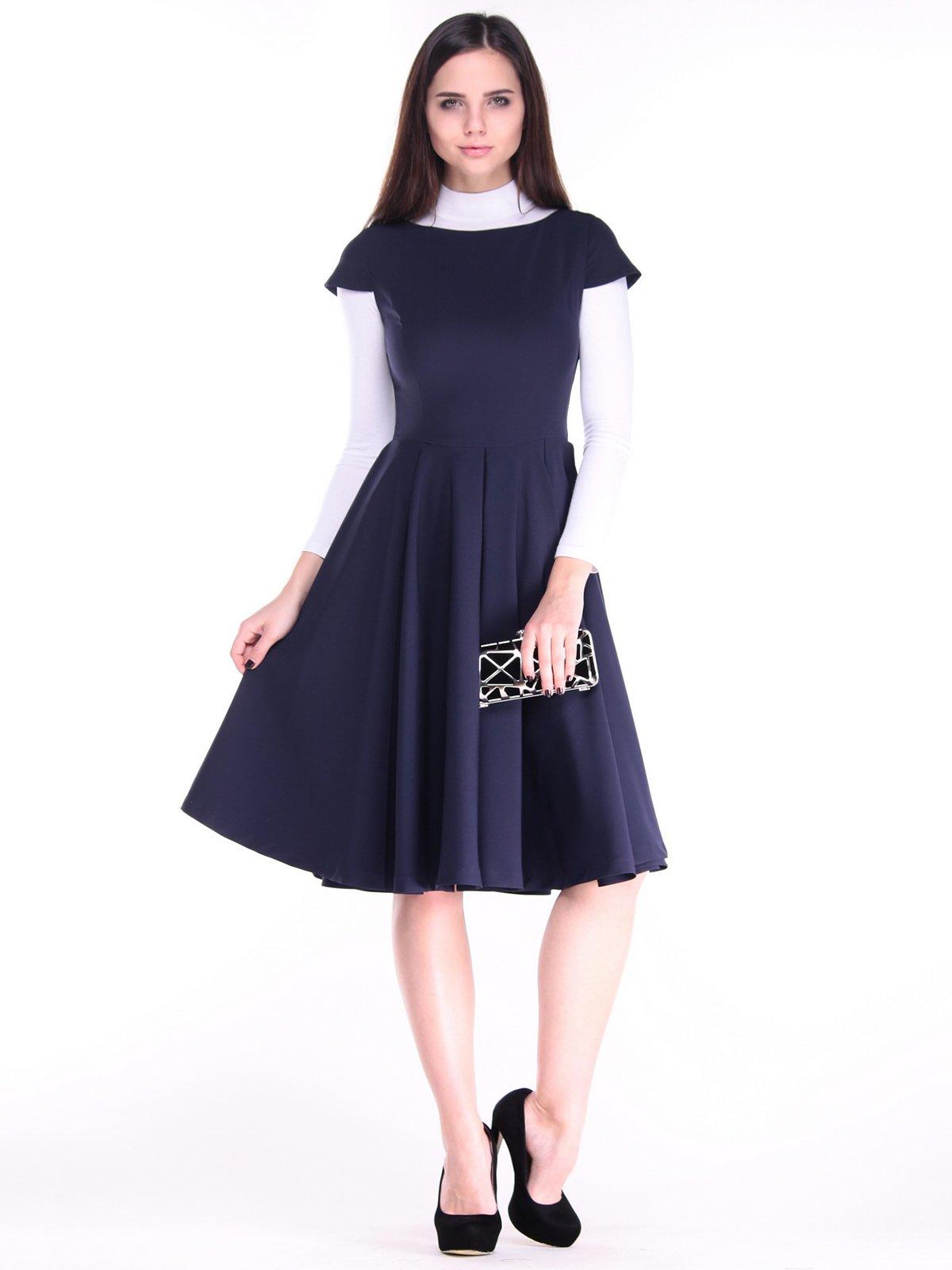 Сукня темно-синя | 3692810