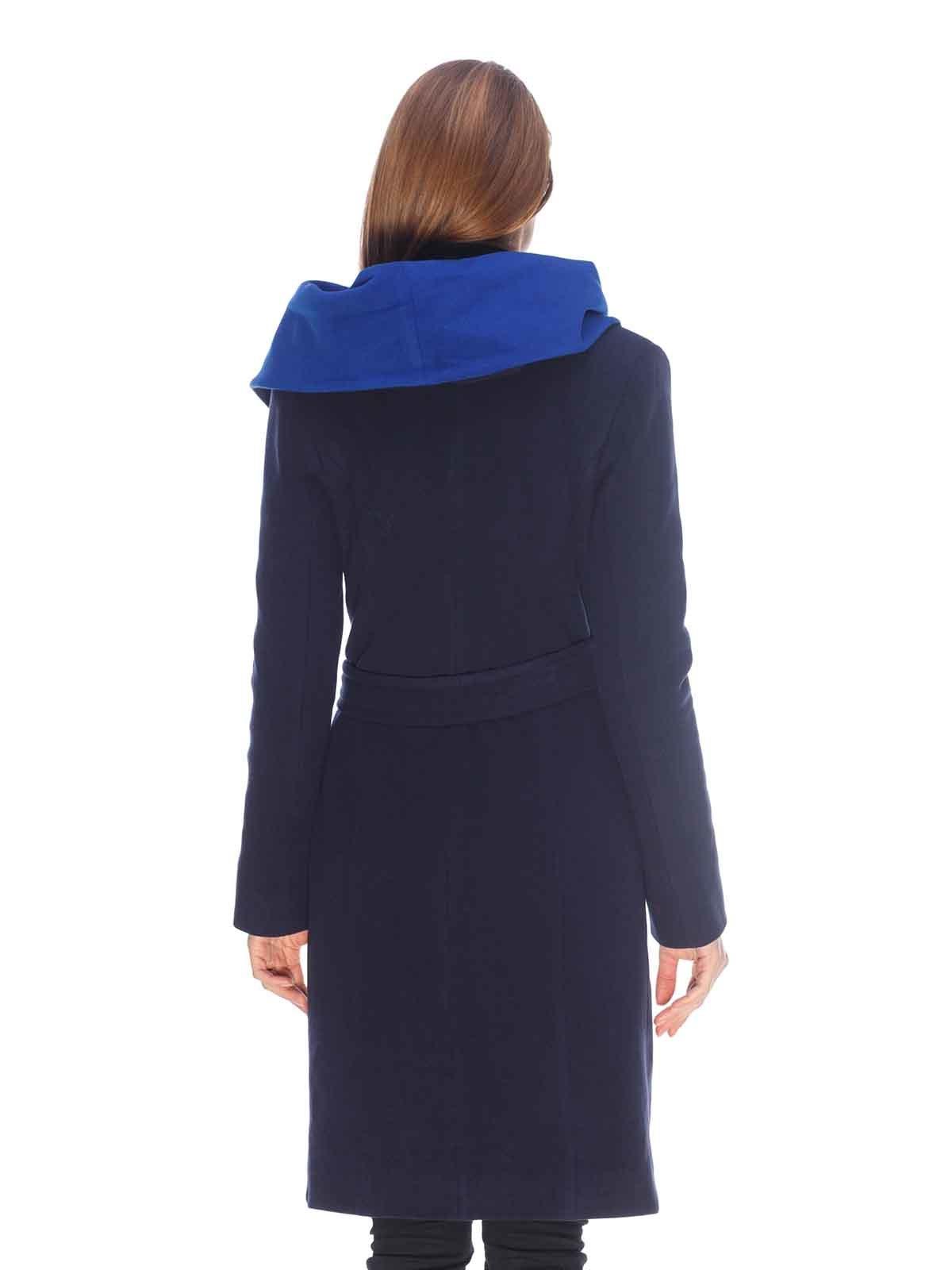 Пальто темно-синее   3605700   фото 2