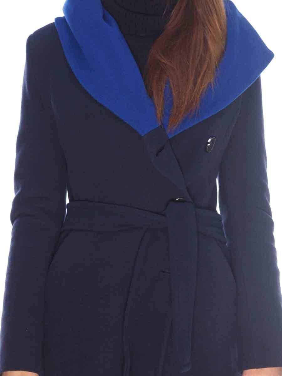 Пальто темно-синее   3605700   фото 3