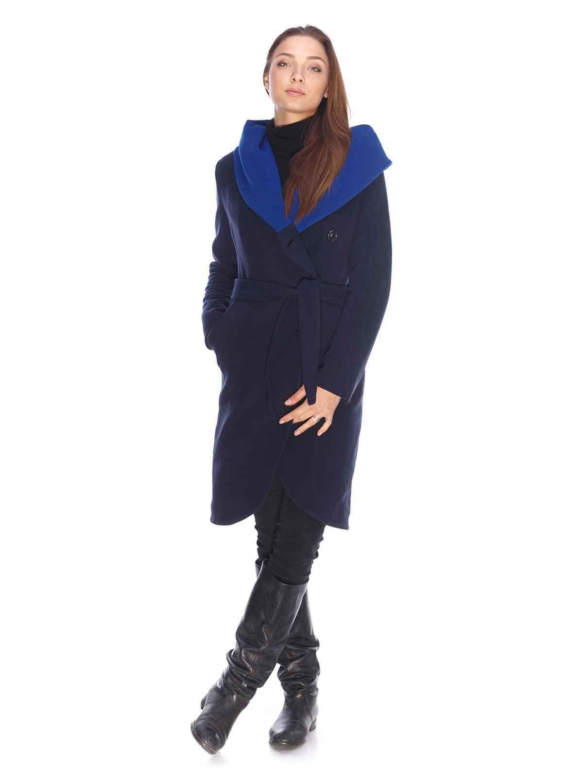 Пальто темно-синее   3605700   фото 4