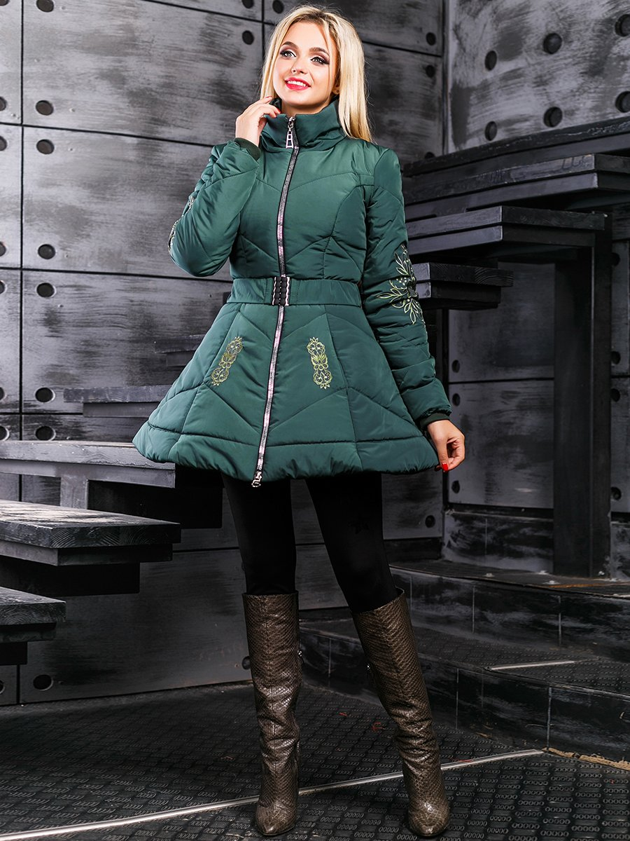 Куртка зелена | 3664353 | фото 2