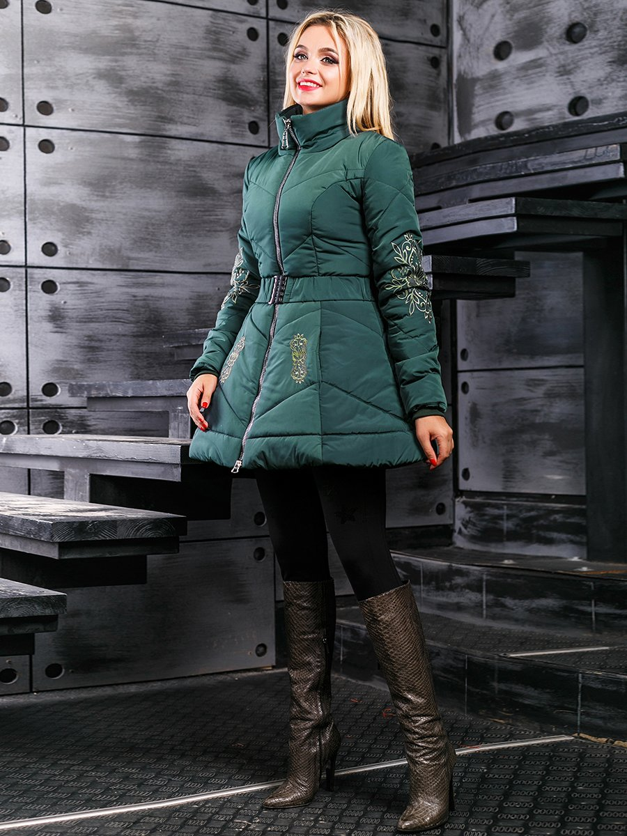 Куртка зелена | 3664353 | фото 3