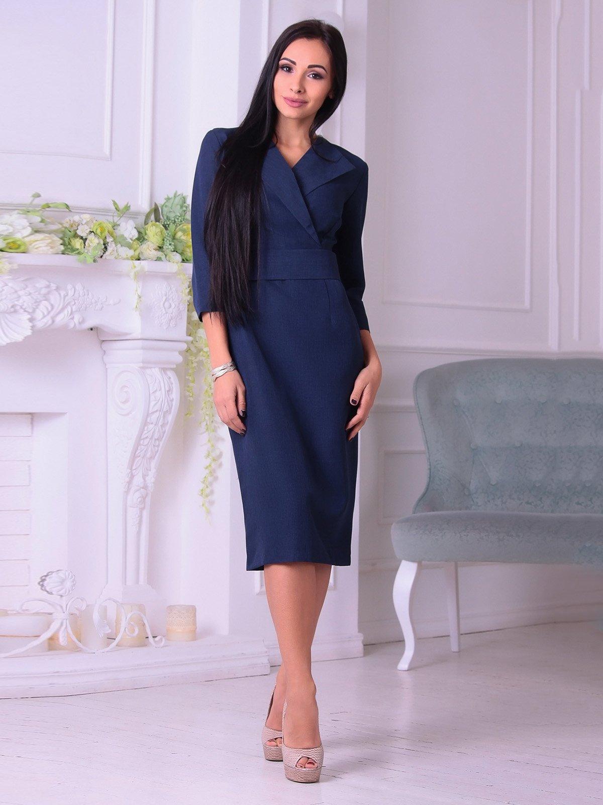 Сукня темно-синя | 3692786