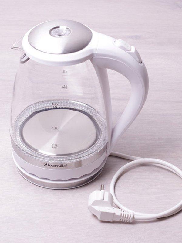 Чайник електричний з синім LED-підсвічуванням (1,5 л) | 3699993