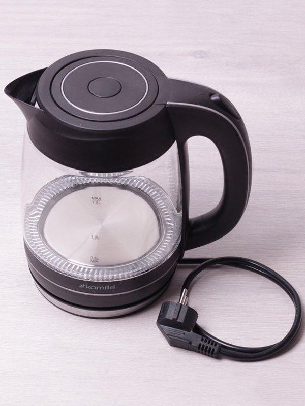 Чайник електричний з синім LED-підсвічуванням (1,8 л) | 3699997