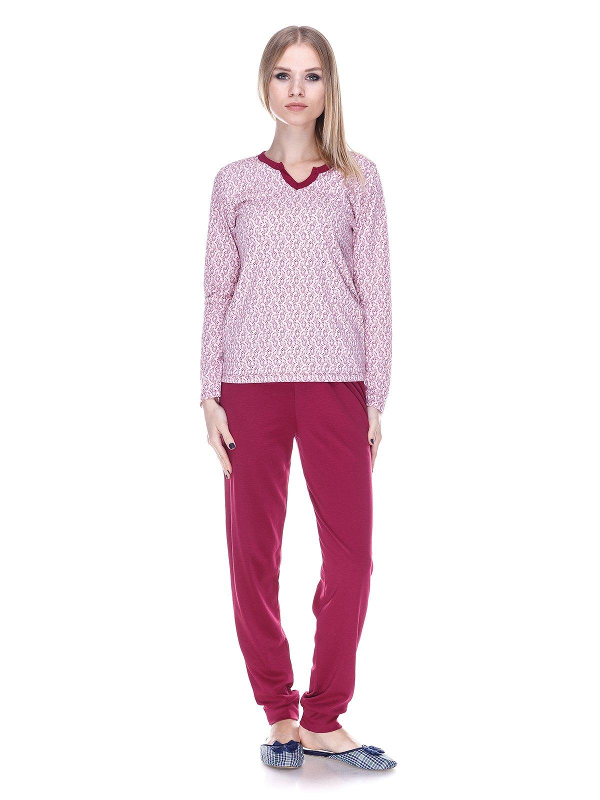 Пижама: лонгслив и брюки   3701746