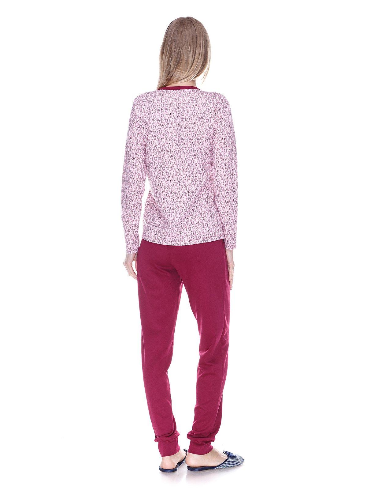 Пижама: лонгслив и брюки   3701746   фото 2