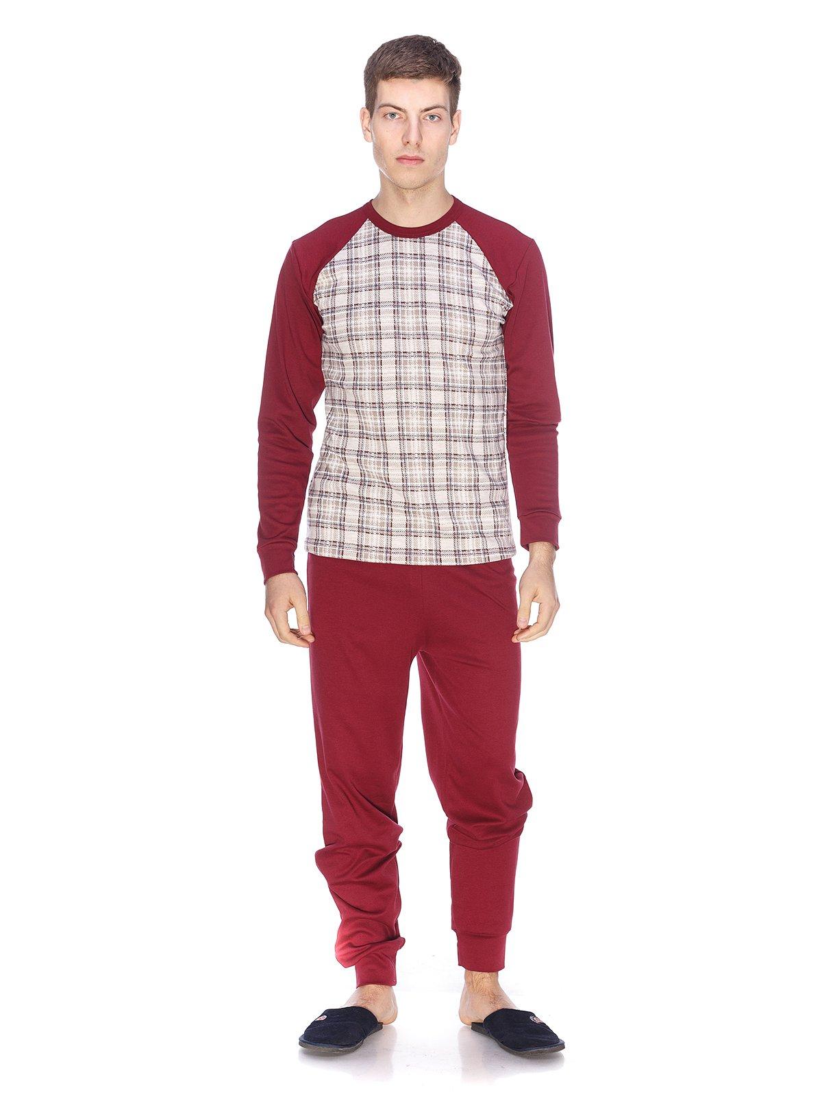 Пижама  лонгслив и брюки — Наталюкс ba00de828a0fb