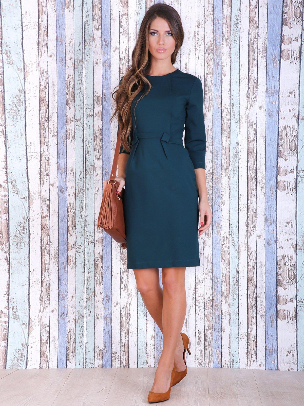 Платье изумрудного цвета | 3705658
