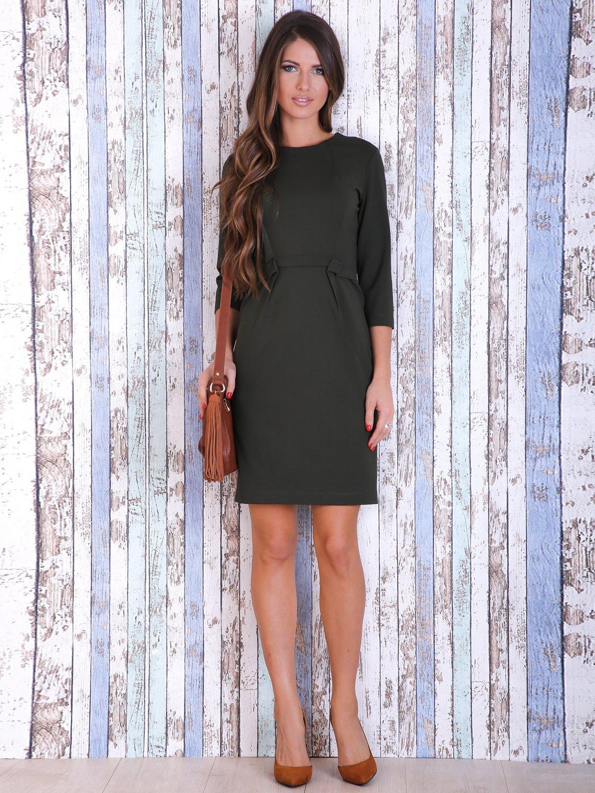 Платье цвета хаки | 3705659