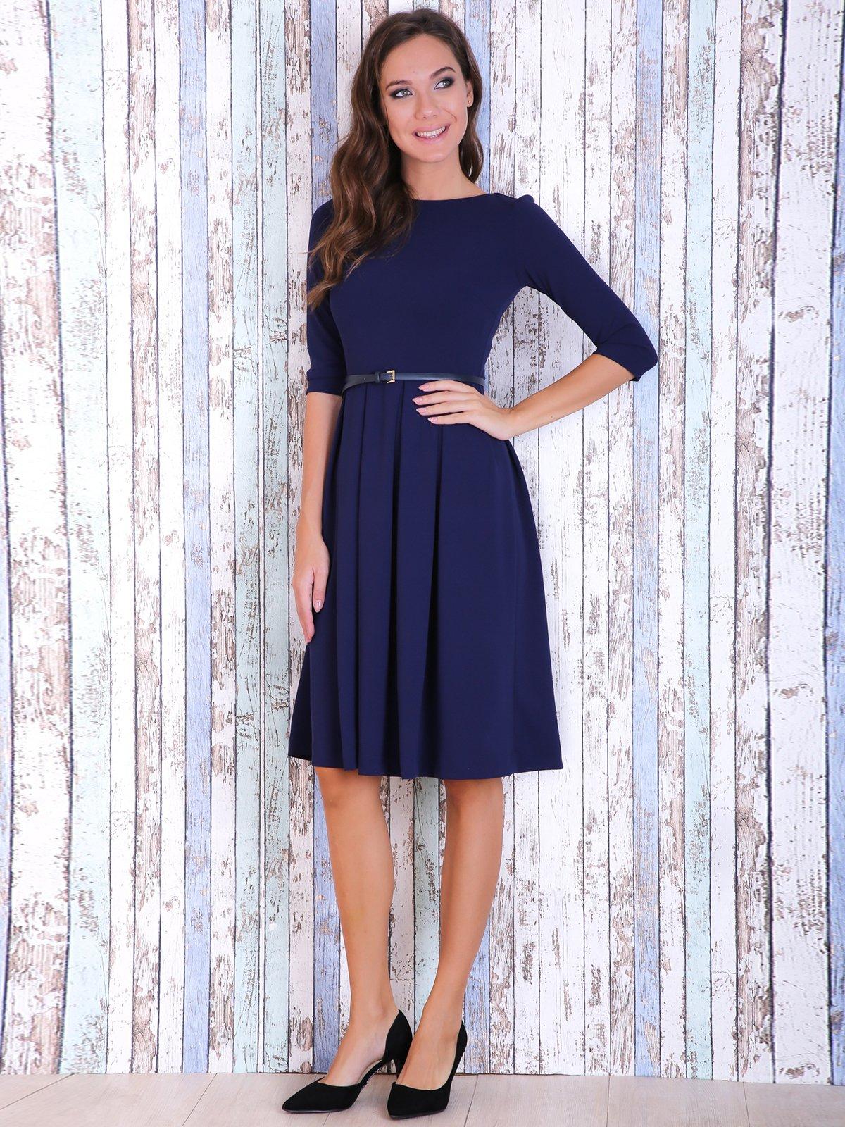 Сукня темно-синя | 3705676