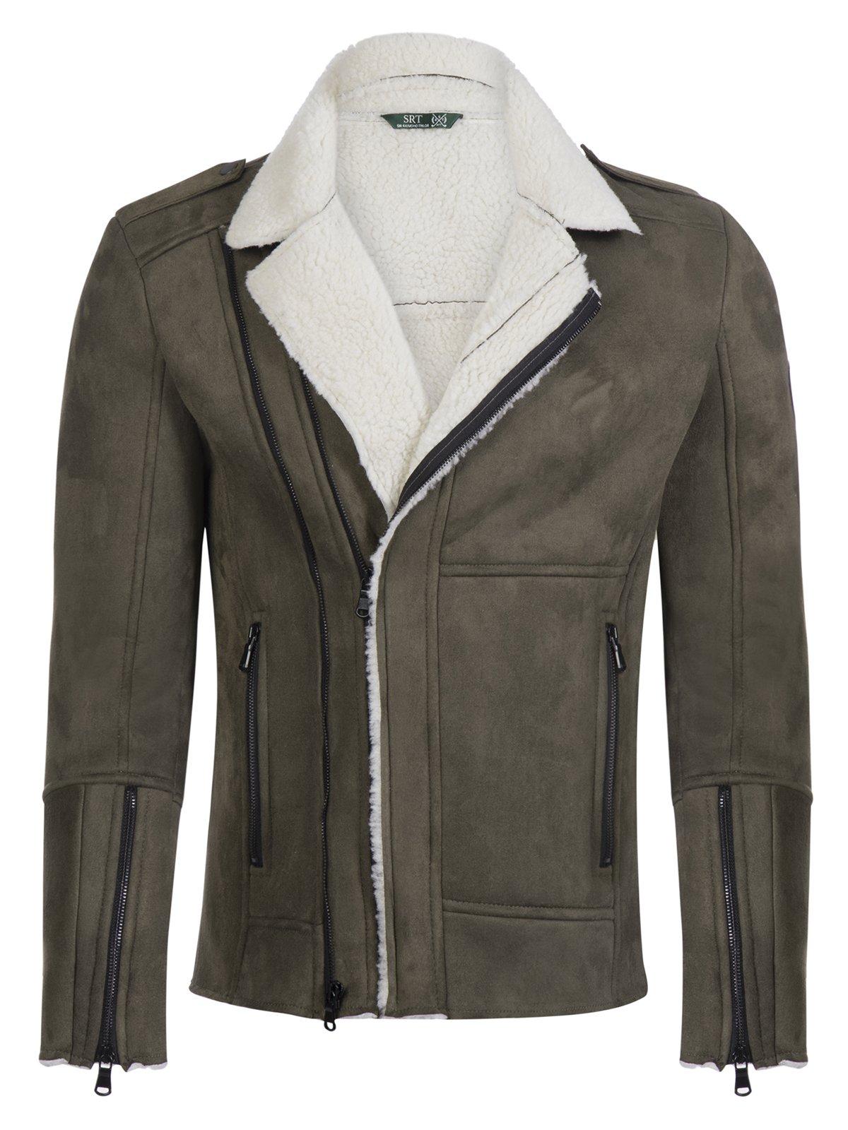 Куртка цвета хаки | 3594270