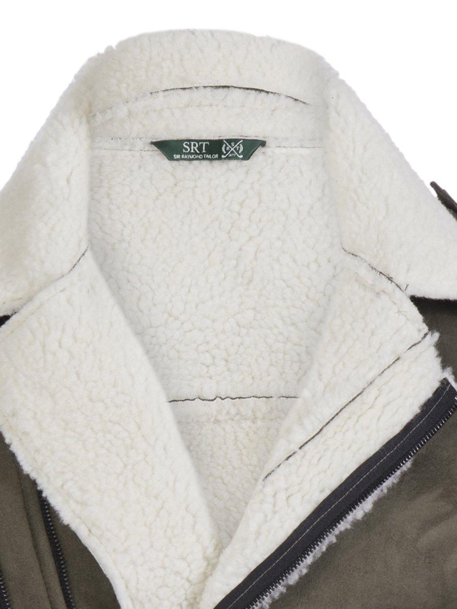 Куртка цвета хаки | 3594270 | фото 2