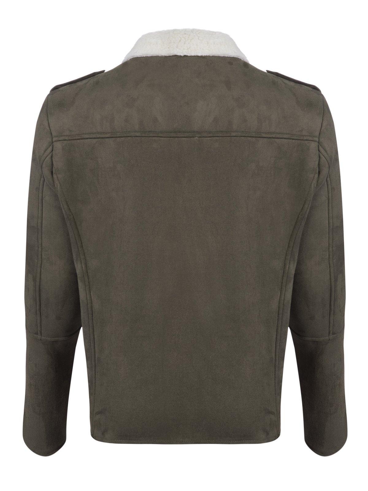 Куртка цвета хаки | 3594270 | фото 4