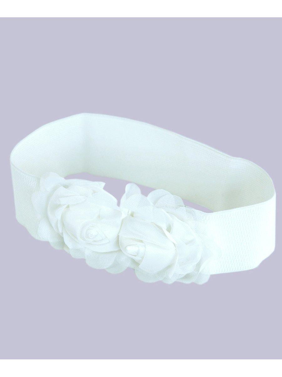 Пояс-резинка білий | 2601118 | фото 2