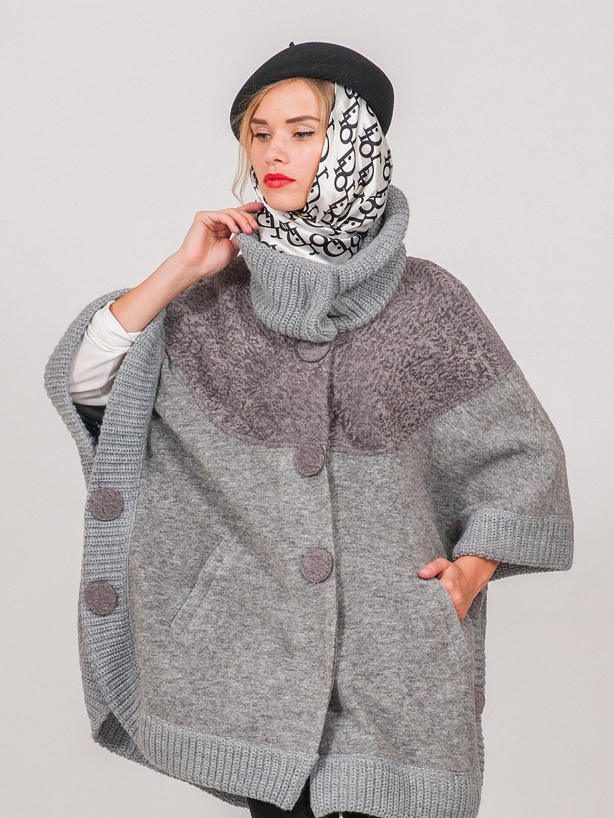 Пальто сіре   3652904