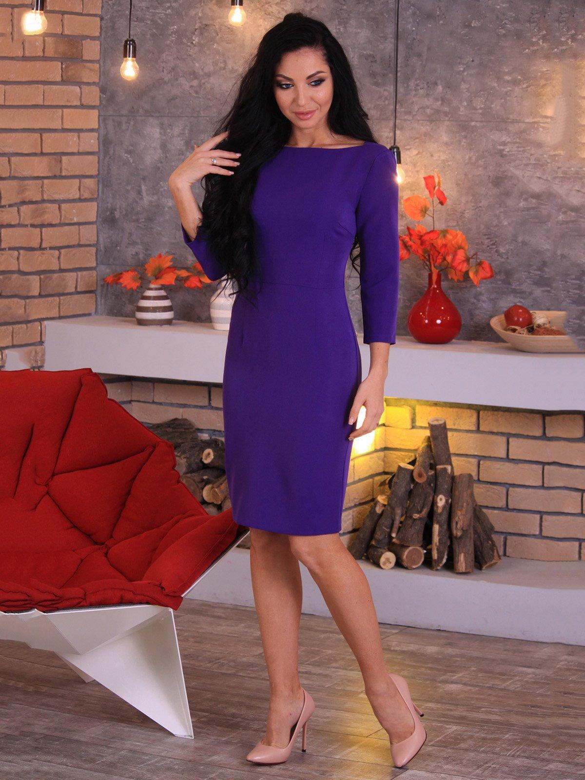 Платье фиолетовое   3709888