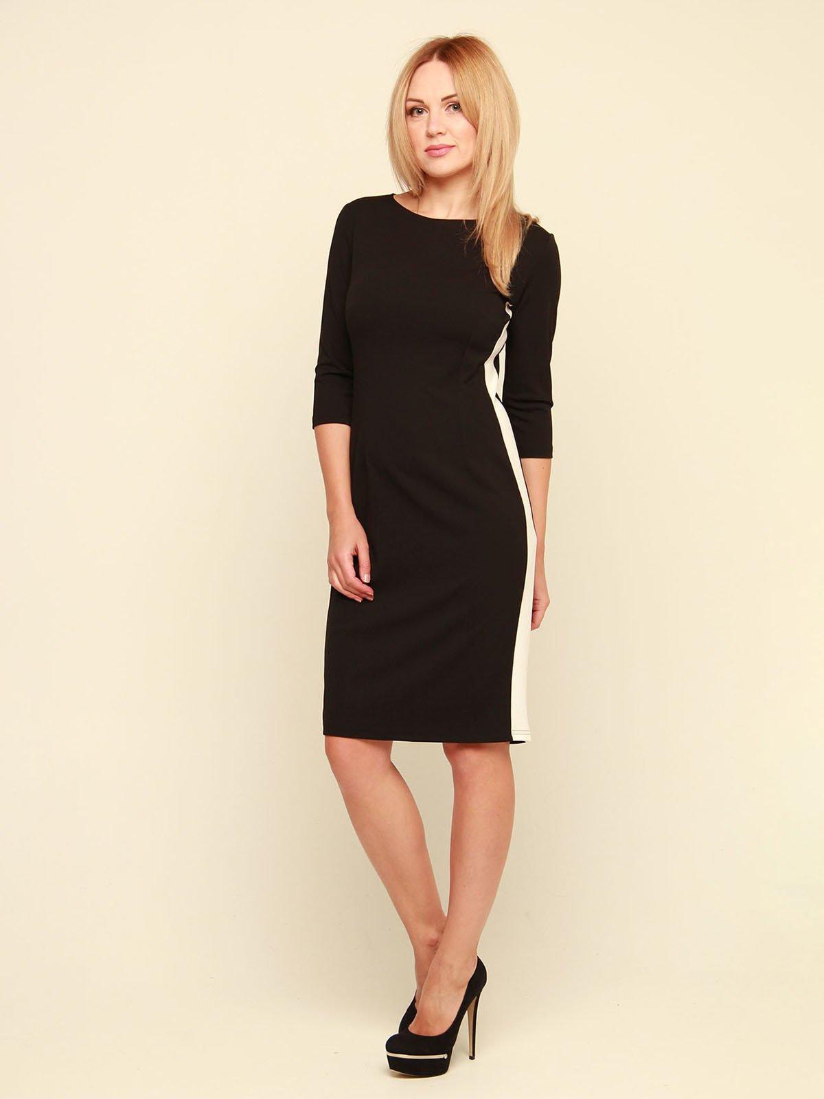 Сукня чорно-біла | 3710818 | фото 2