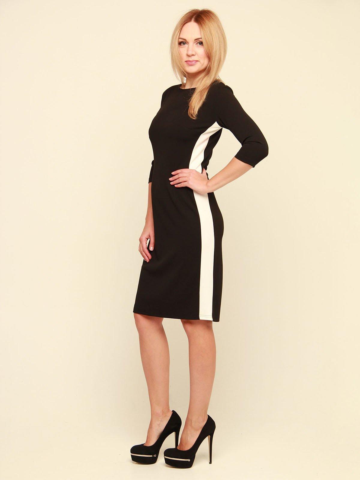 Сукня чорно-біла | 3710818 | фото 3