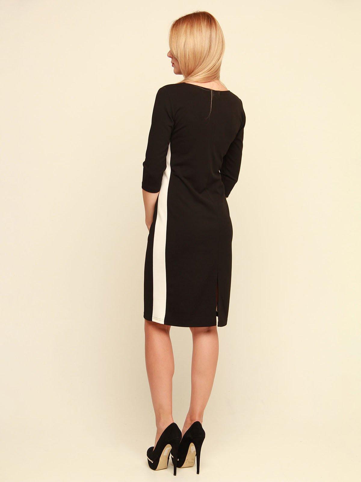 Сукня чорно-біла | 3710818 | фото 4