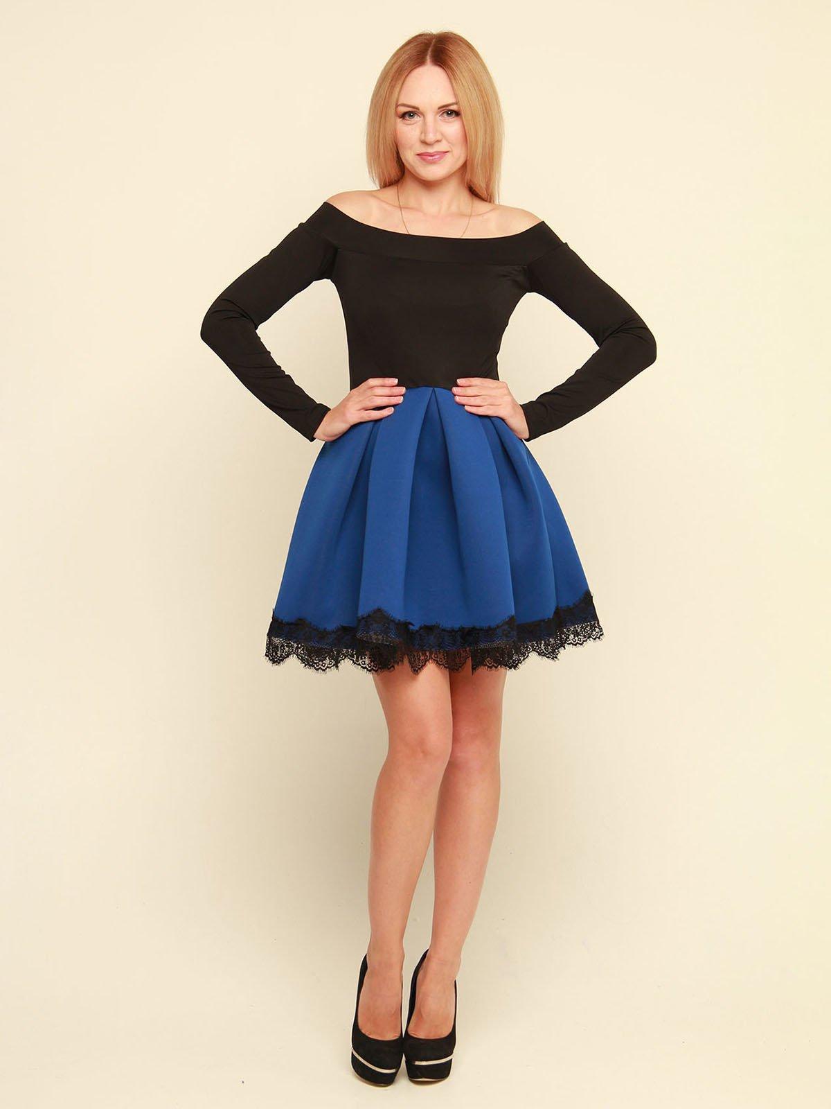 Платье двухцветное | 3710828