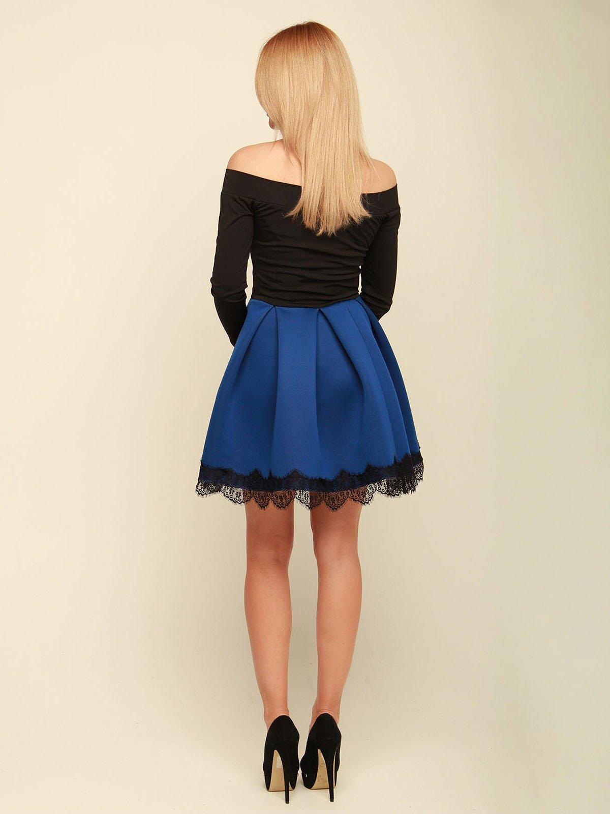 Платье двухцветное | 3710828 | фото 3