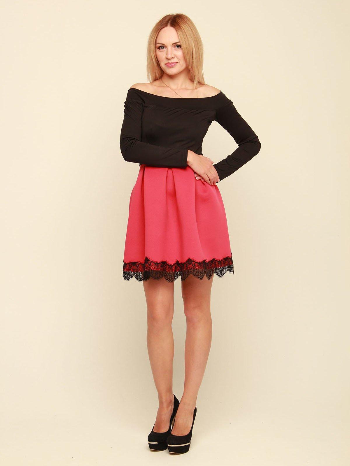 Платье двухцветное | 3710829