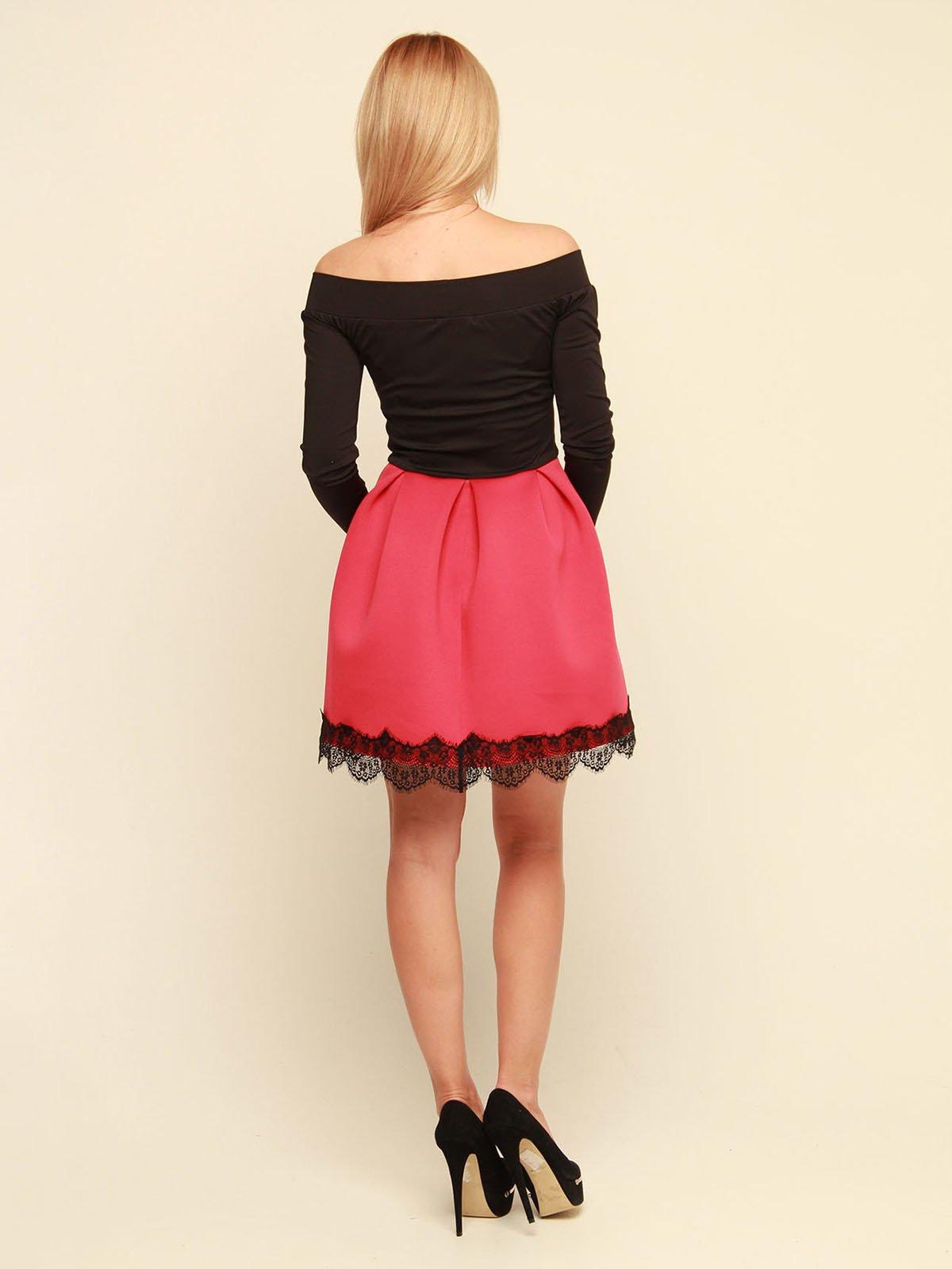 Платье двухцветное | 3710829 | фото 4