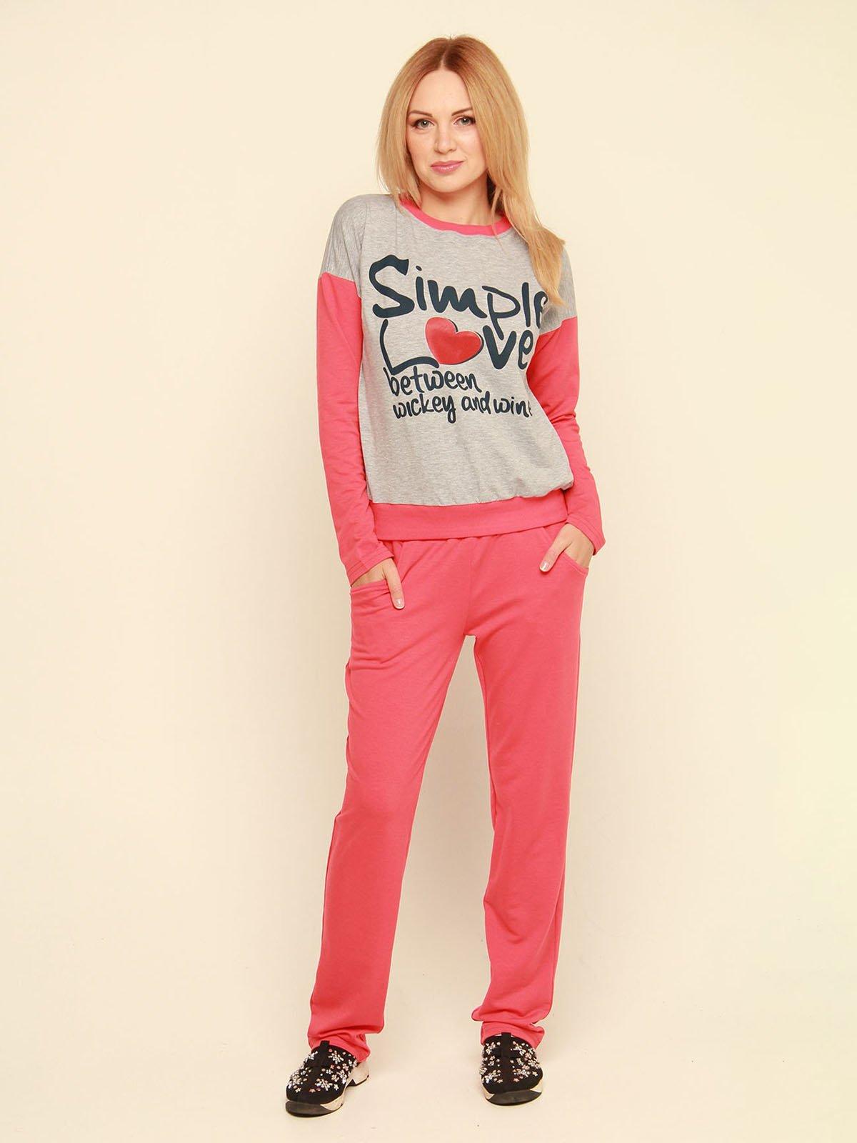 Костюм: джемпер і штани | 3710832