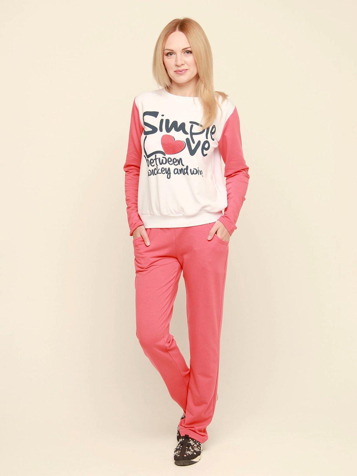 Костюм: джемпер і штани | 3710841