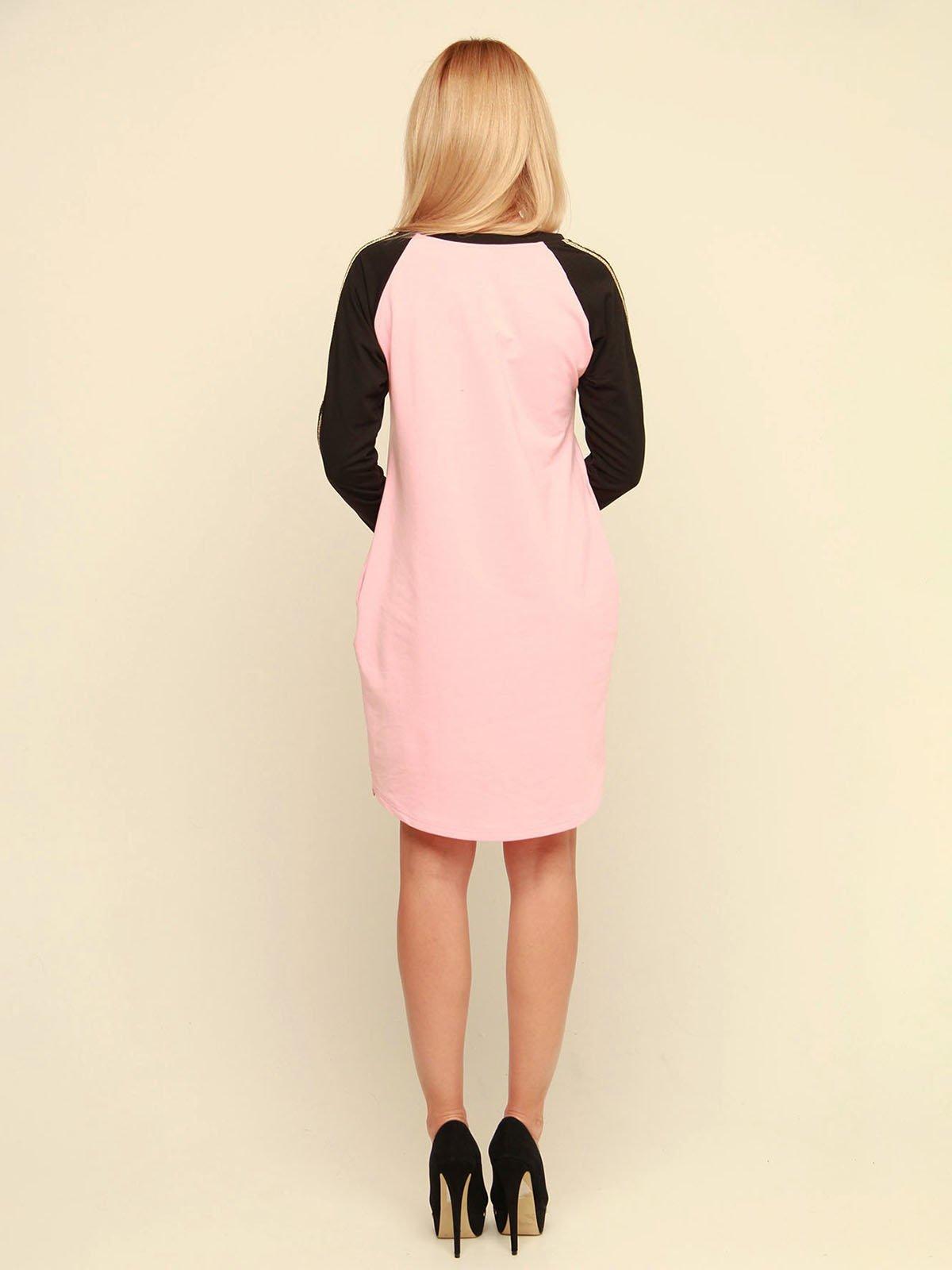 Сукня рожева з написом | 3710842 | фото 3