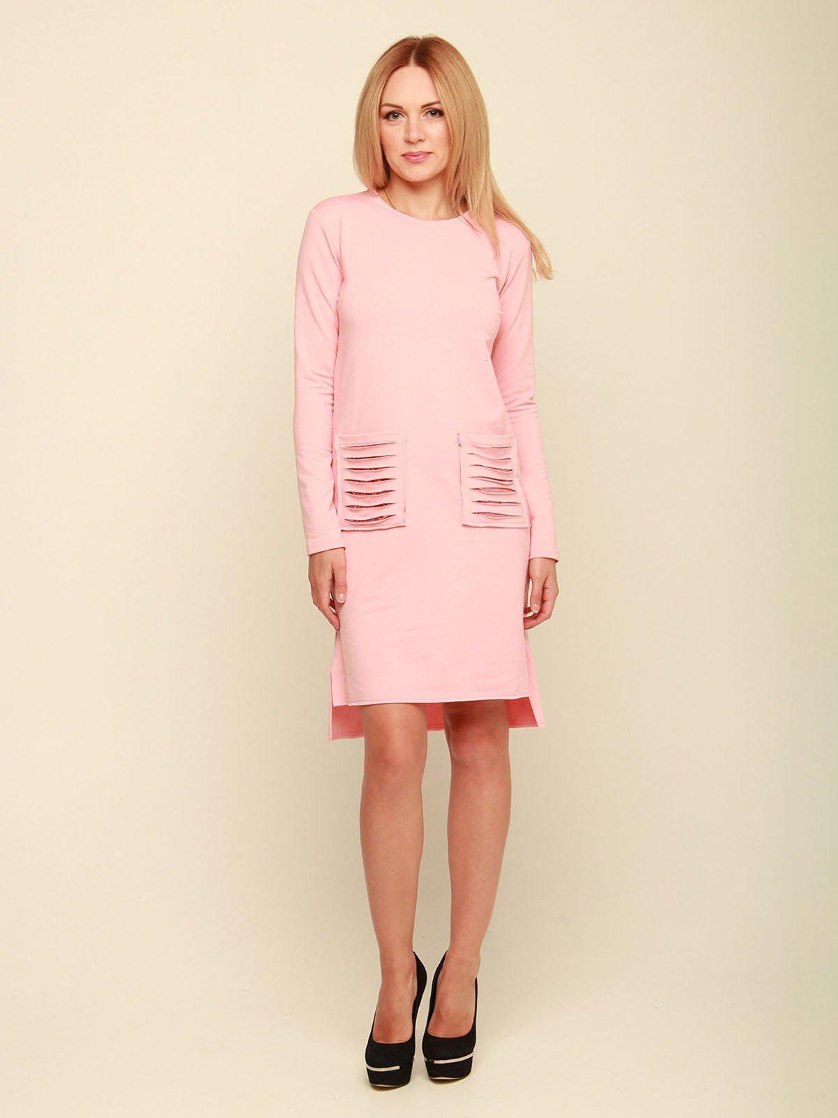 Платье розовое   3710847   фото 2