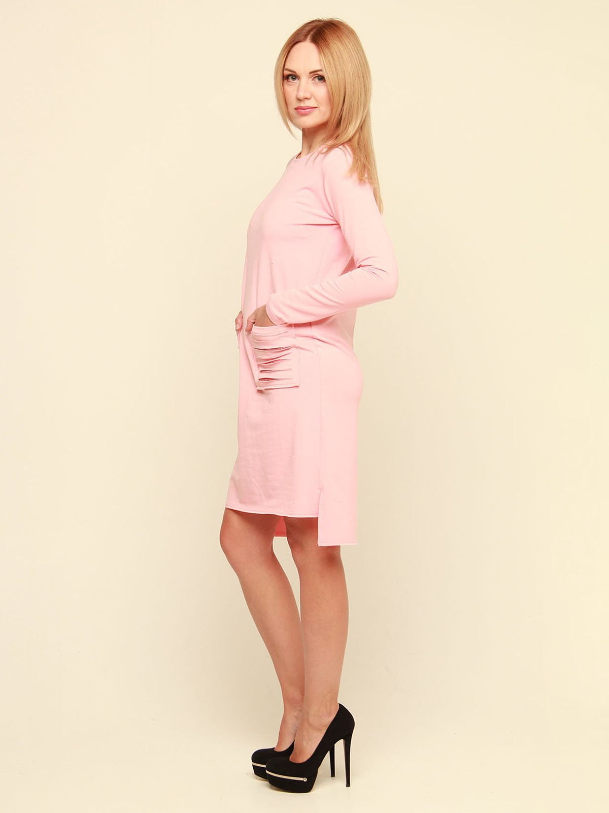 Платье розовое   3710847   фото 3