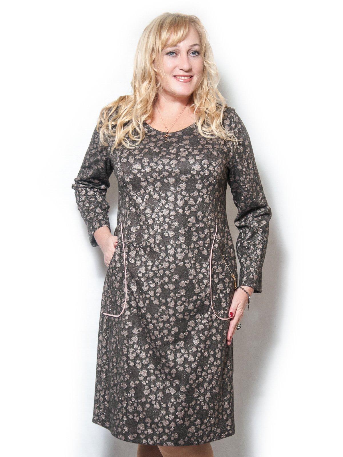 Платье коричневое   3710991