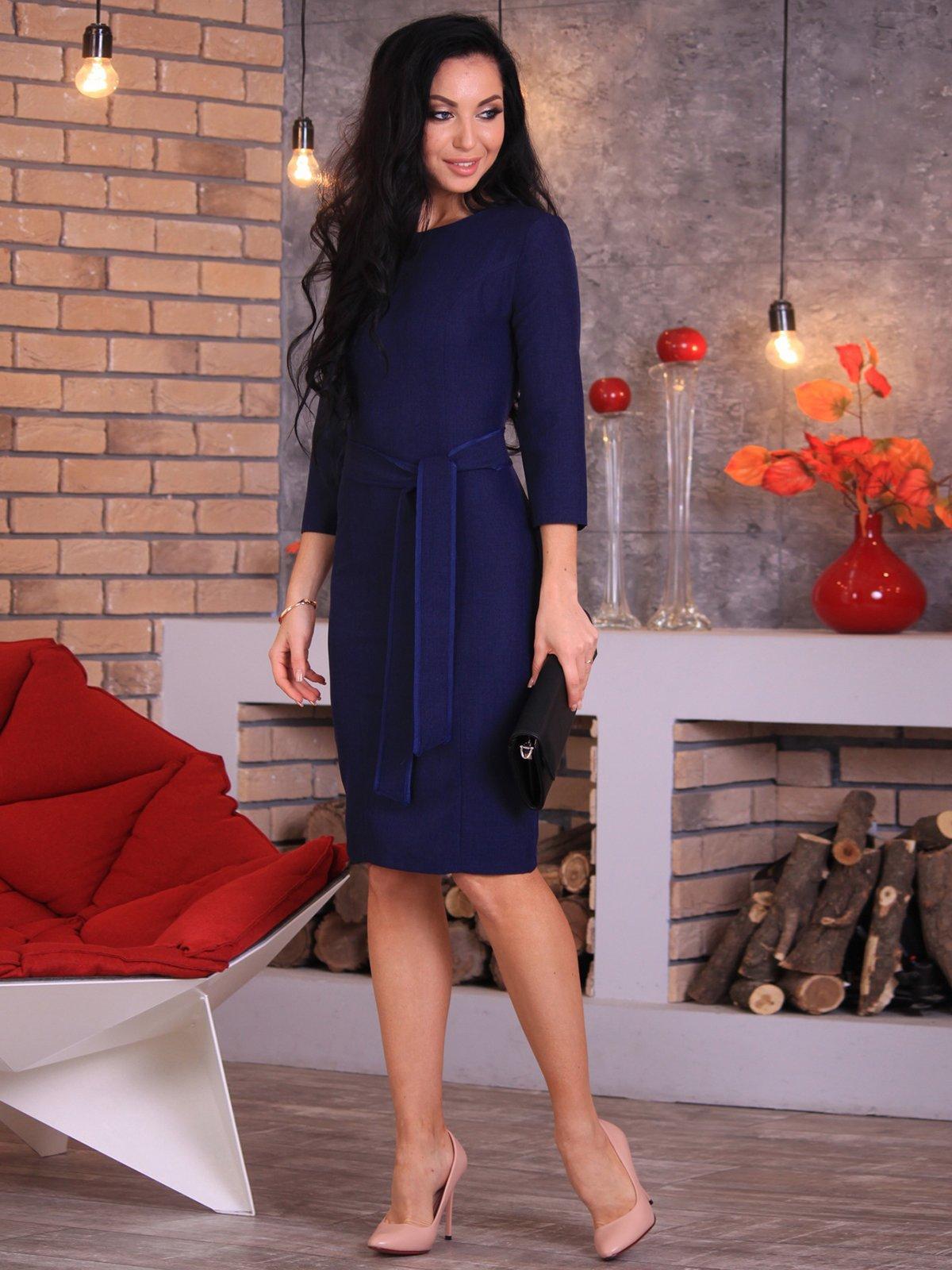 Сукня темно-синя | 3712988