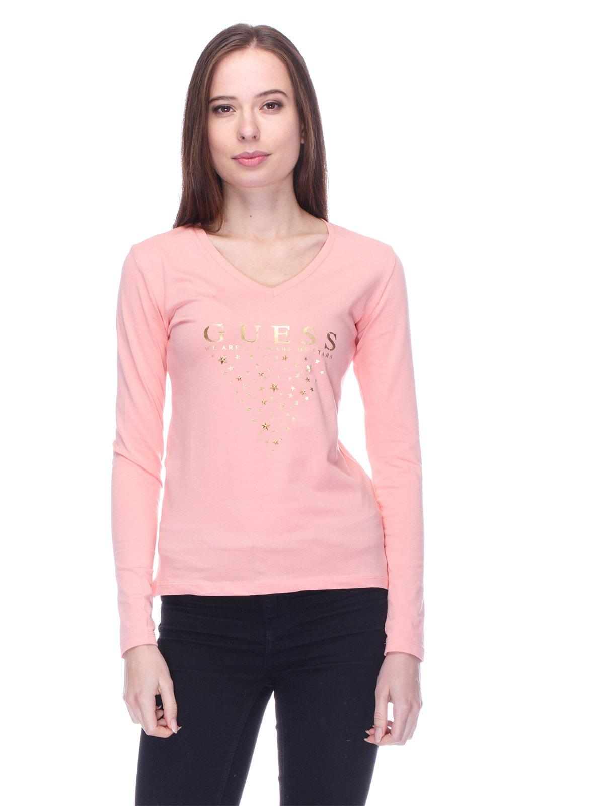 Лонгслів рожевий   3718078