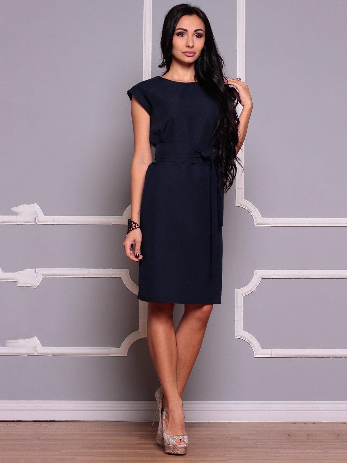 Сукня темно-синя | 3719831