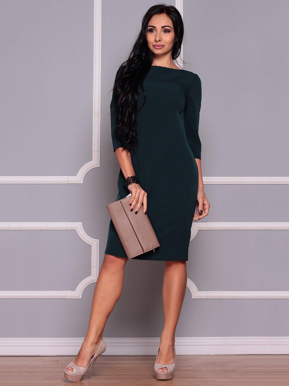 Сукня темно-смарагдова | 3719838