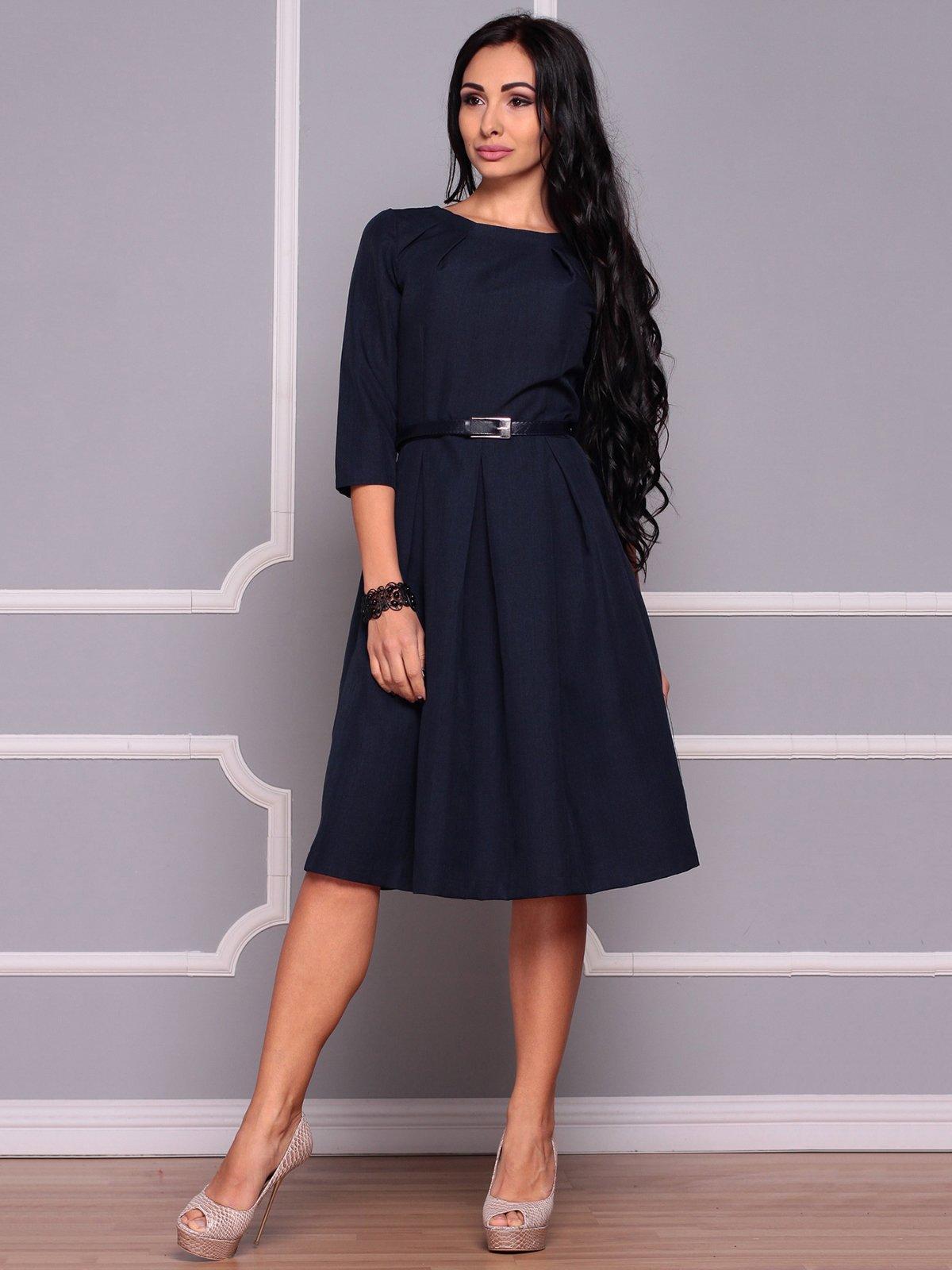 Сукня темно-синя | 3719846