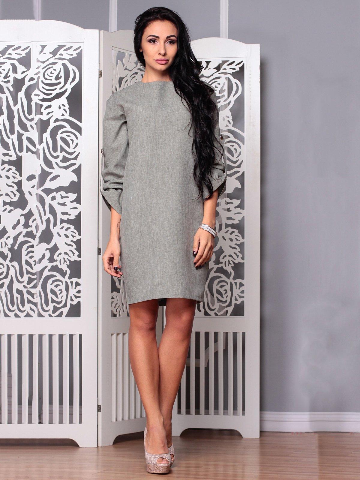 Сукня темно-оливкова | 3719853