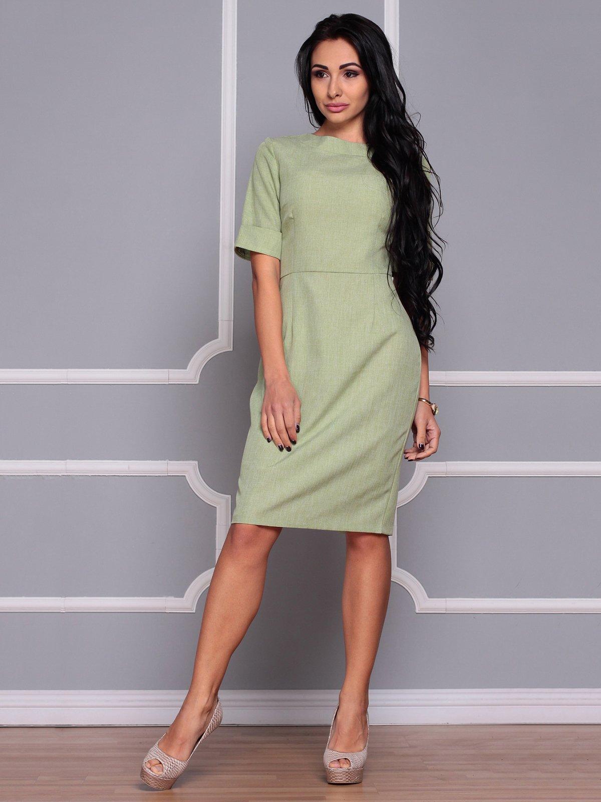 Платье оливковое | 3719864